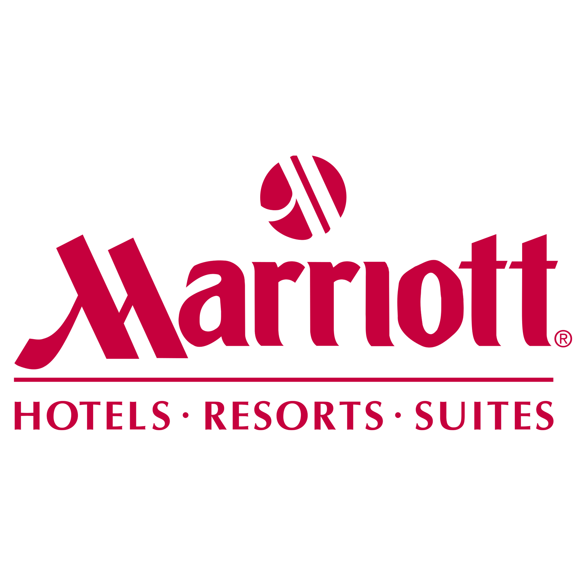 Logo of Marriott Hotels, Resorts, and Suites